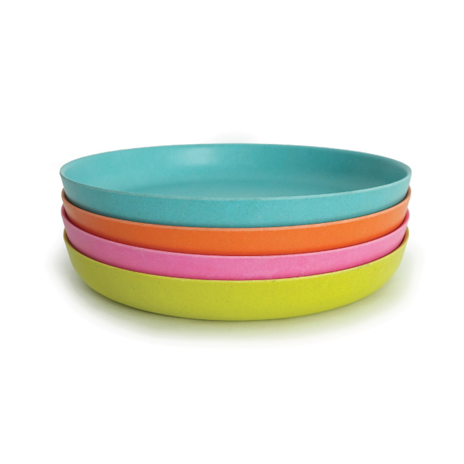 Bamboo Small Plate Set - Multi
