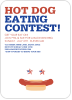 Hot Dog Eating Contest - Front View