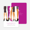 Sex in the City Party Invitations - Violet