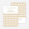 Baby Carriage Shower Invitation - Creamy Orange