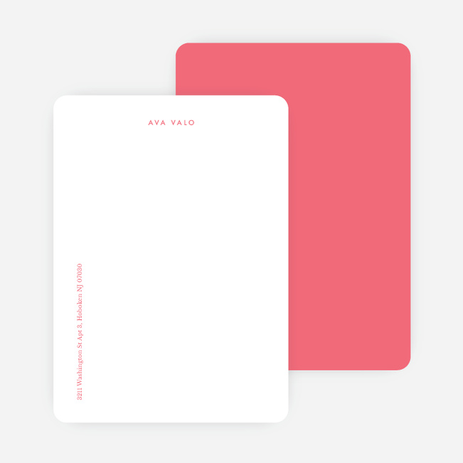Bright & Simple Stationery - Pink