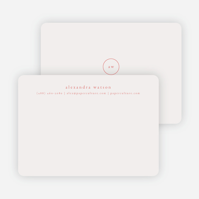 Simple & Elegant Stationery - Pink