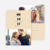 Couple's Seal Wedding Save the Date Cards - Yellow