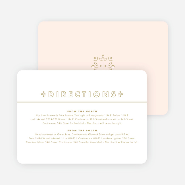 Line Up, Be Counted Wedding Information Cards - White
