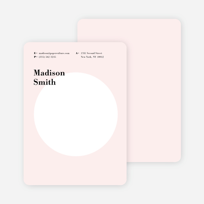 Circle Up Stationery - Pink