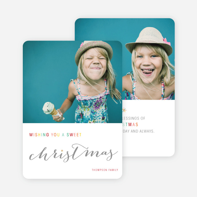 Sweet Christmas Cards - Multi