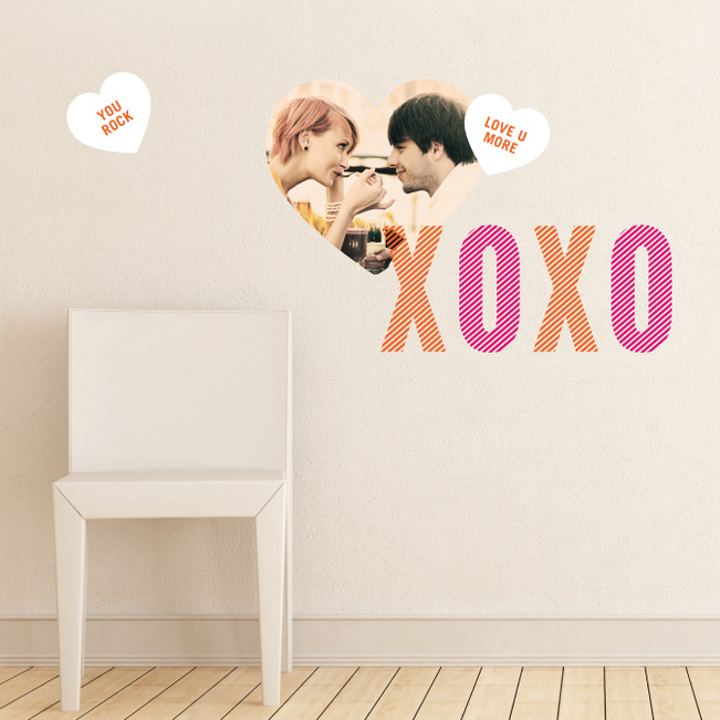 #Love Has Its Own Language Wall Decals - Red