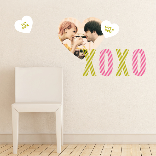 #Love Has Its Own Language Wall Decals - Green