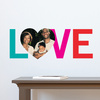 LOVE Simply Photo Wall Decals - Green