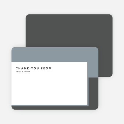 letter a black paper culture thank you cards 16443 | foil blocks wedding thank you cards.3130ETY XYYCT.PR.430.201604141429