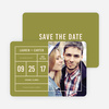 It's a Date Save the Dates - Green