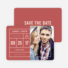 It's a Date Save the Dates - Red