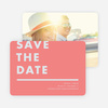 Today's Modernist Save the Dates - Pink