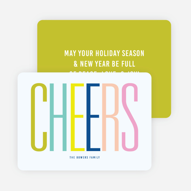 big cheers holiday cards paper culture