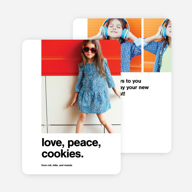 Perfectly Said Holiday Cards - Black
