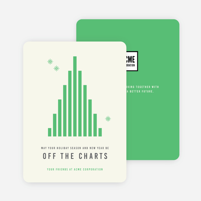 Off the charts corporate holiday cards paper culture reheart Gallery