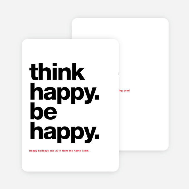 Well Wishes Corporate New Year Cards | Paper Culture