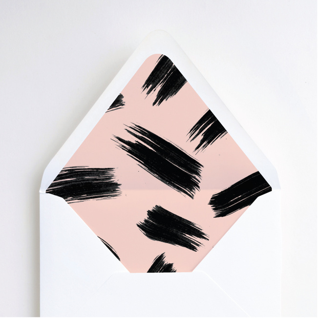 Bold Strokes Envelope Liners - Pink