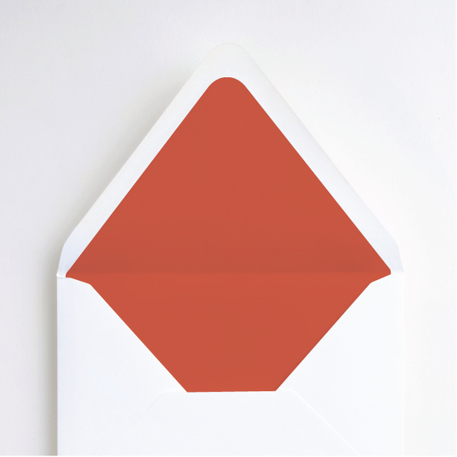 Color Pop Envelope Liners - Red