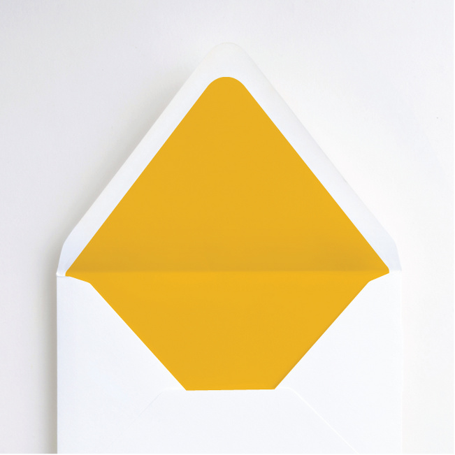 Color Type Envelope Liners - Yellow