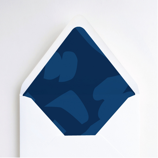 Paper Cuts Envelope Liners - Blue