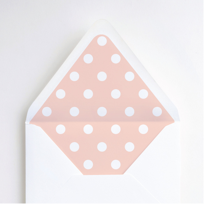 Sealed with a Ring Envelope Liners - Pink