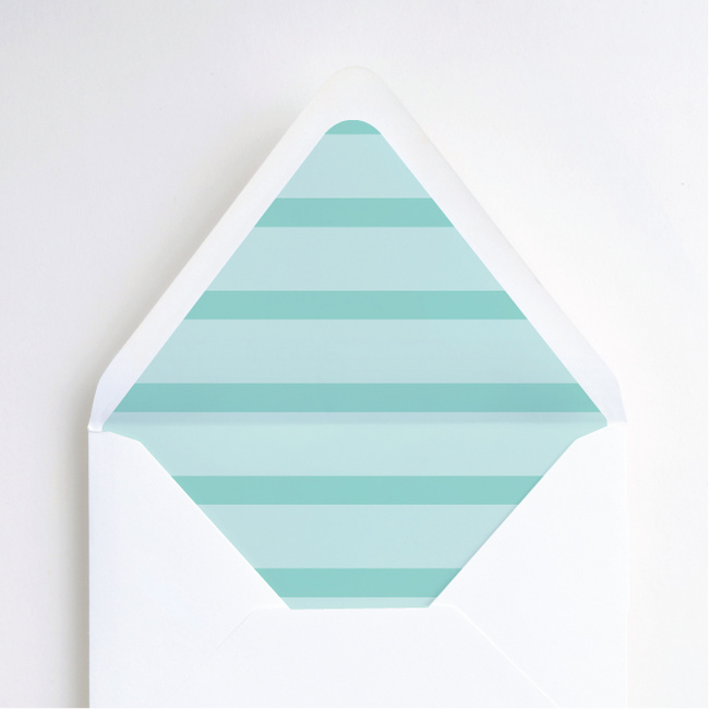 Simple & Chic Envelope Liners - Blue