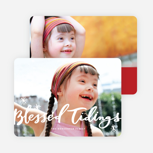 Bright Stars Holiday Cards - Red