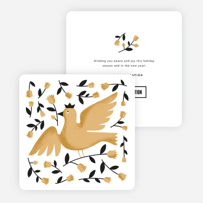 dove wishes corporate holiday cards paper culture - Electronic Holiday Cards