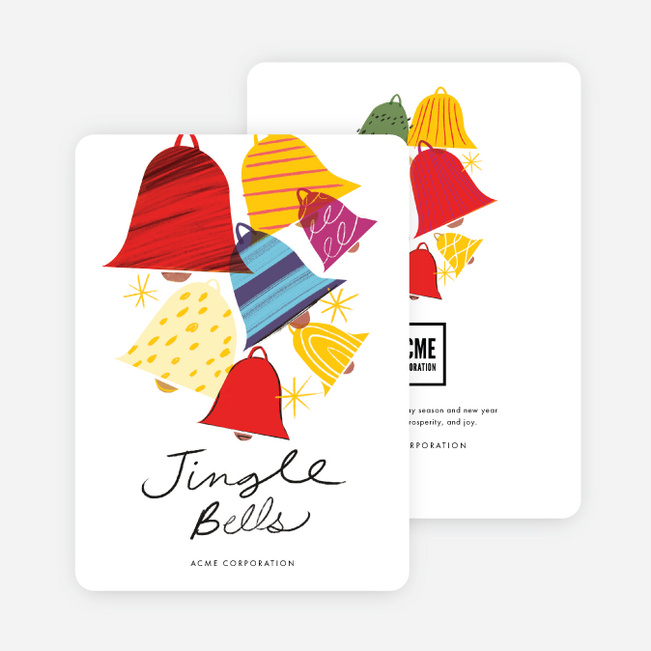 Bells & Whistles Corporate Holiday Cards - Multi