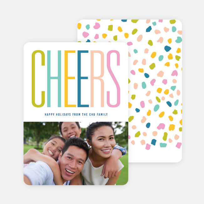 Colorful Confetti Holiday Cards - Multi