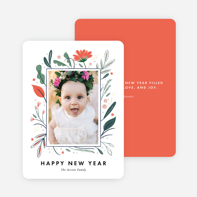 Floral and More Holiday Cards - Multi