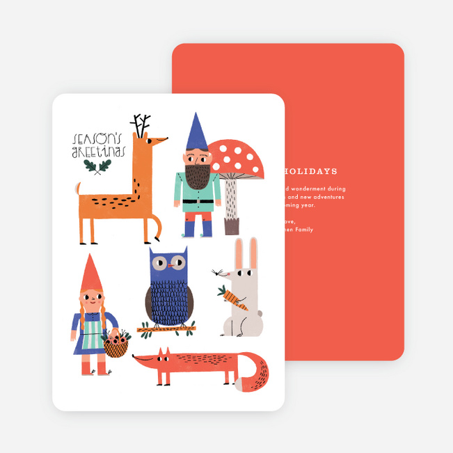 Cast of Characters Holiday Cards - Multi