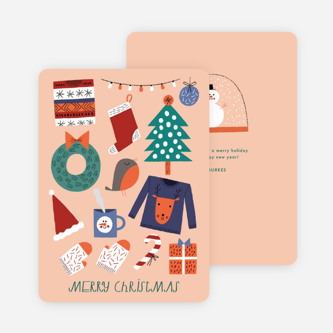 Snow Globe Holiday Cards - Multi