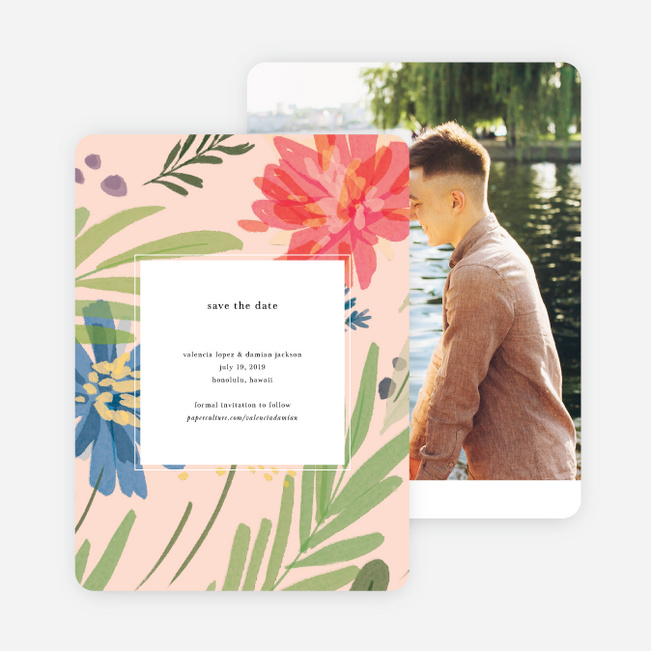Field of Dreams Save the Date Cards - Multi