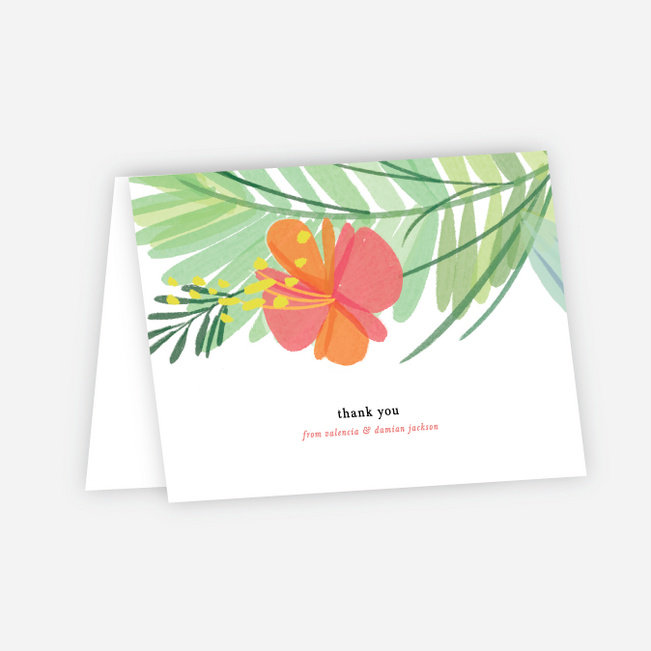 Field of Dreams Wedding Thank You Cards - Multi
