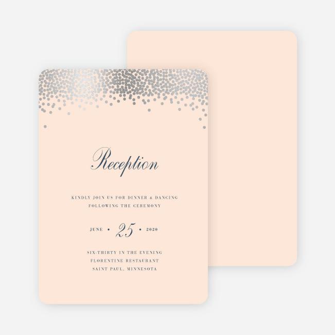 Wedding Reception Cards Paper Culture