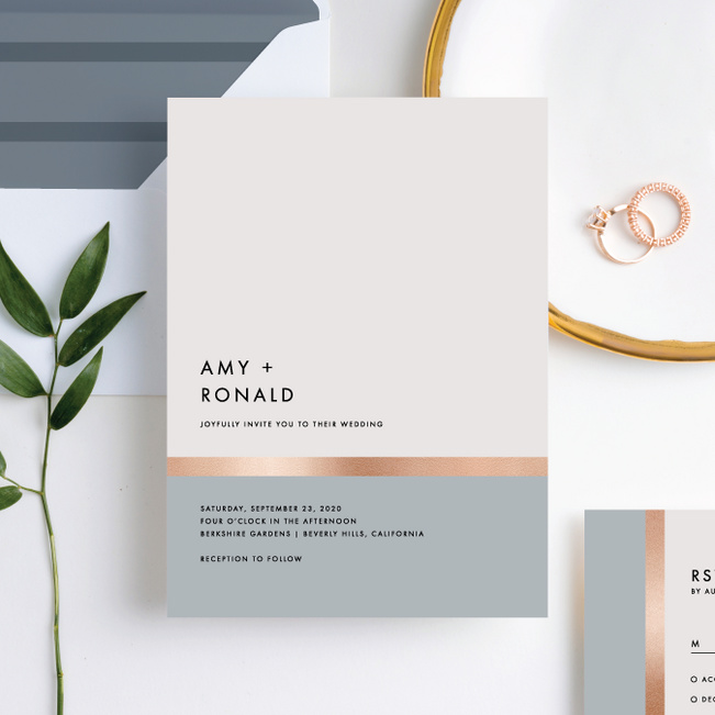 Stripe It Wedding Invitations Paper Culture