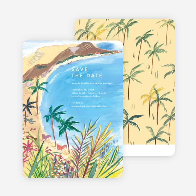 Destination Bound Save the Date Cards - Multi