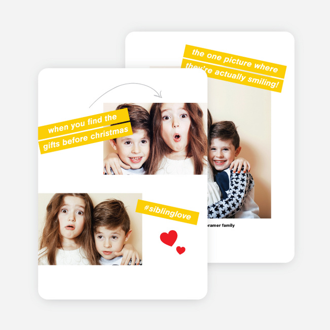Social Moments Christmas Cards - Multi