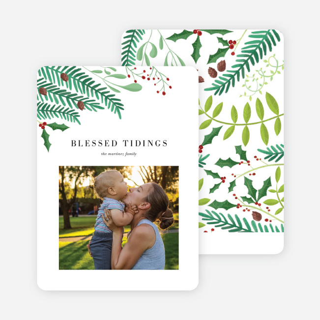 Branch Out Holiday Cards - Black