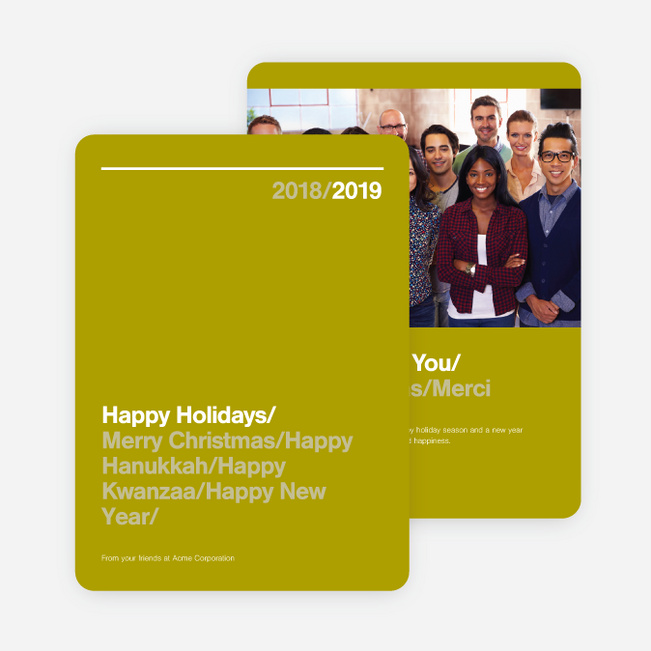 Greetings corporate holiday cards paper culture m4hsunfo