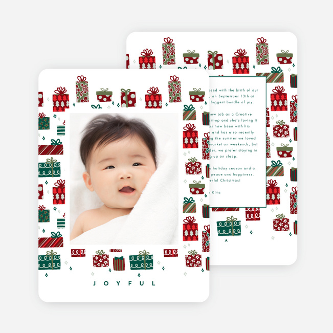 Greatest Gift Christmas Cards - Multi