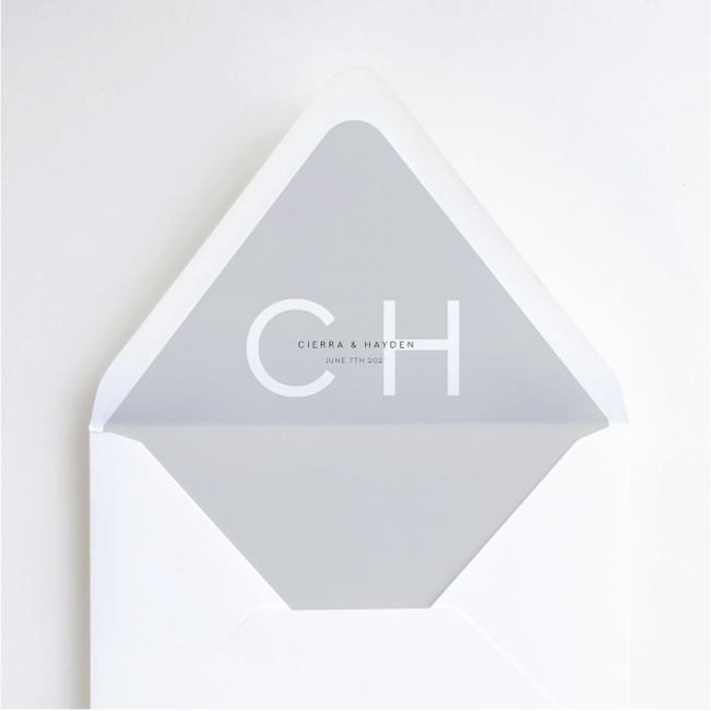 Big and Small Envelope Liners - Gray