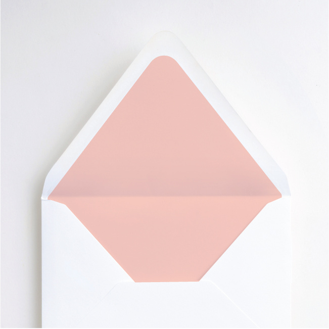 Clean Highlights Envelope Liners - Pink